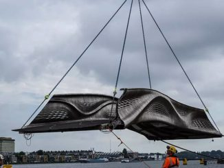 World's first 3D-printed bridge opened in Amsterdam