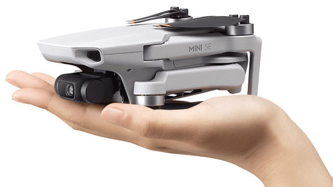 DJI Mini SE offers an affordable drone