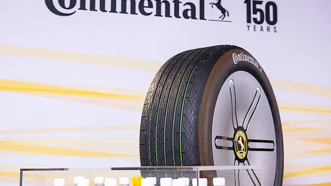 Continental's Conti GreenConcept is an eco-friendly concept tire