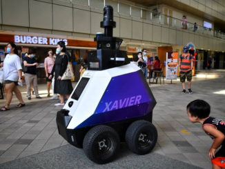 New robots in Singapore to patrol public areas